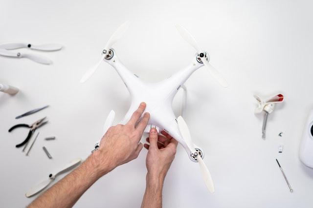 Dron nie chce się unieść - jaka przyczyna