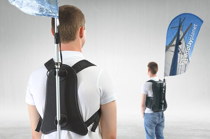3 najpopularniejsze zastosowania plecaka z flagą plażową
